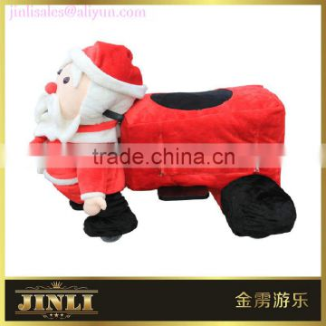 cute gift plush electrica toy car, electric equipment with good quality for kids in shopping center