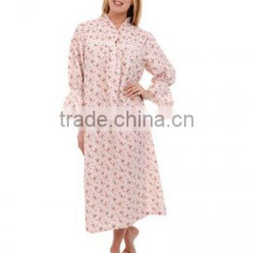 The hot products romantic long sexy sheer christmas nightgown