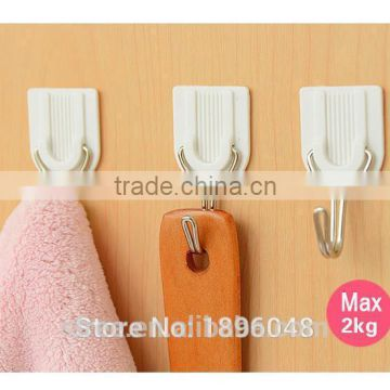 1Set/6PCS Self-Adhesive Home Wall Hanger Strong Sticky Hook Bathroom Towel Holder of ` from China Suppliers - 125789913