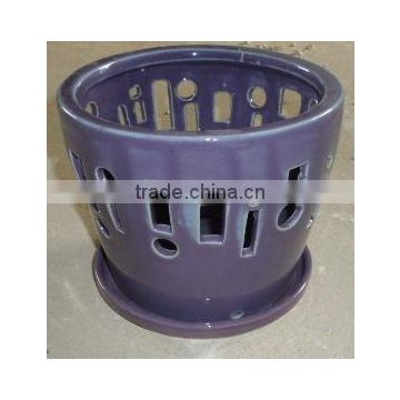 Orchid planters, Cactus pots, bonsai pots, Vietnam tall indoor ceramic pots, Vietnam small indoor ceramic pots,