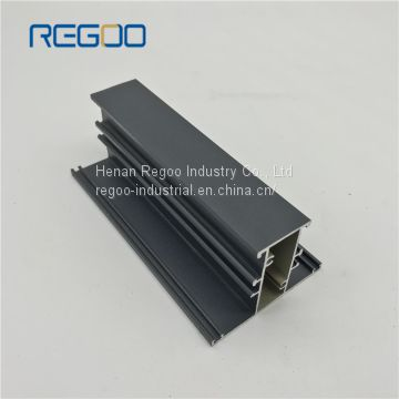Modern Anodized Aluminum Profiles for Office Partition