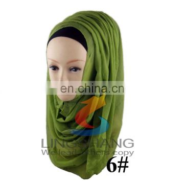 Cheap wholesale fashion voile women muslim hijab scarf 15 colors