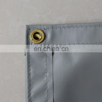 warp knitting 9x9 1150g Hot Sell pvc mesh sheet for construction