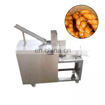 oil free snack maker New type stainless steel automatic fried dough twist machine