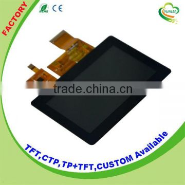 "4.3/"" inch Capacitive Touch Panel Screen with FT5206 Controller,Connector,480x272"