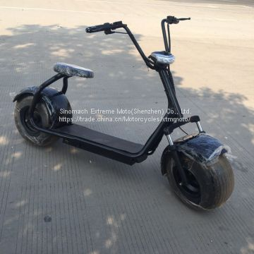 CE street legal 1000W electric harley scooter