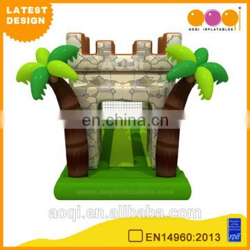 2015 AOQI latest design giant outdoor rampart inflatable obstacle course playground for sale