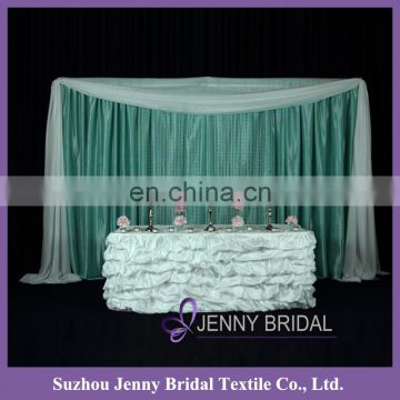 TS001D buffet table cloths marriage decoration wedding luxury tablecloths