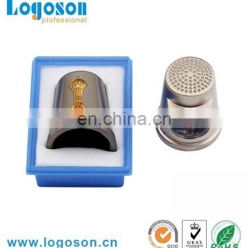 Superior quality fashion decorative metal sewing thimble