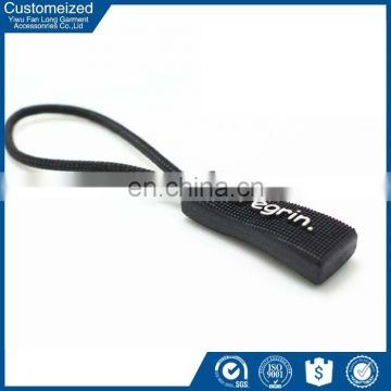 Nylon slide reverse closed end zipper