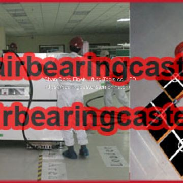 Air casters rigging systems