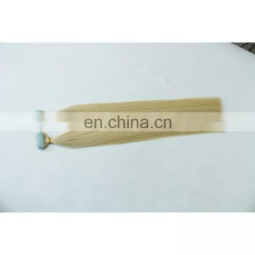 Factory remy tape in hair extensions Blonde Hair tape Extensions invisible hair extensions