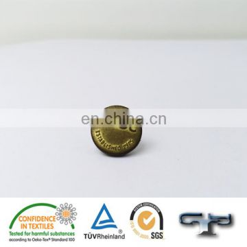 Custom nickle-free metal ladies jeans buttons for overcoats
