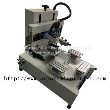 small screen printing machine with 4 conveyor