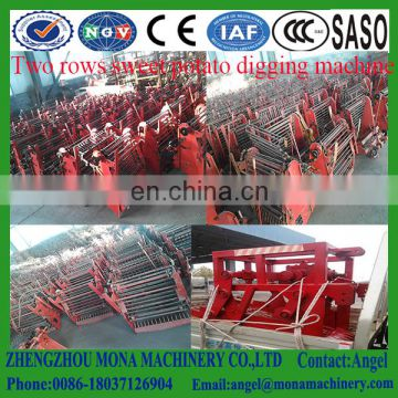 Industrial Double Row Garlic Harvester, One Row Garlic Harvester Machinery For Sale