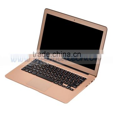 13.3 Inch 5th generation laptop i3 5005U notebook computer with 8GB RAM+256G SSD 1366*768,Metal Cover,8 cell battery,Windows 10