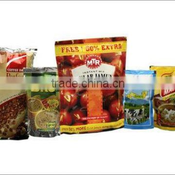 Color printed foil pouches for food