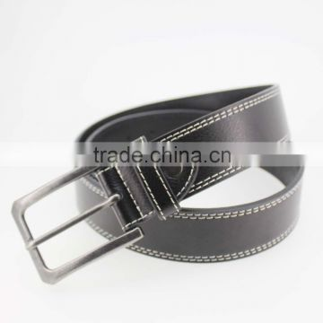 2015 NEW fashion Genuine leather belt for man with high quality alloy pin accessories for jeans