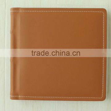 customize high quality cheap price photo album book wiih PVC inner sheet