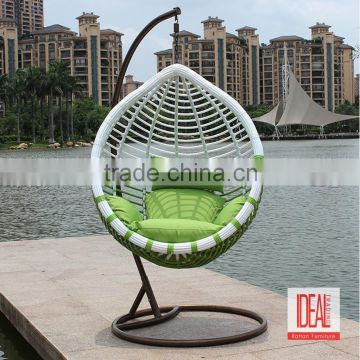 Outdoor Swing Egg Chair,patio Garden Swing Chairs,living Room Hanging  Rattan Egg Chair ...