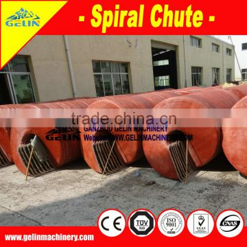 Benefication iron spiral equipment