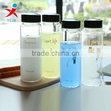 useful high clear large cylinder tableware wholesale