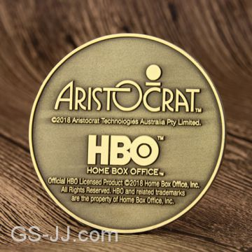 Game of Thrones Custom Challenge Coins of Coins from China