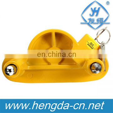 YH9006 1-7/8'', 2'' and 2-5/16'' all purpose tiny low bed truck trailer hitch lock