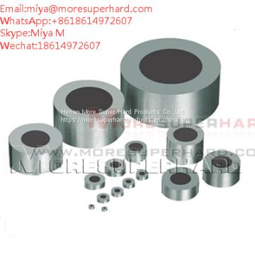 Tungsten Carbide Supported Diamond Die Blanks used to wire drawing miya@moresuperhard.com