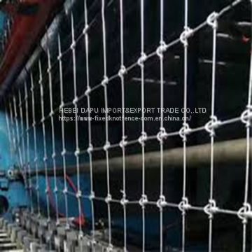 high tensile strength fixed knot fence mesh