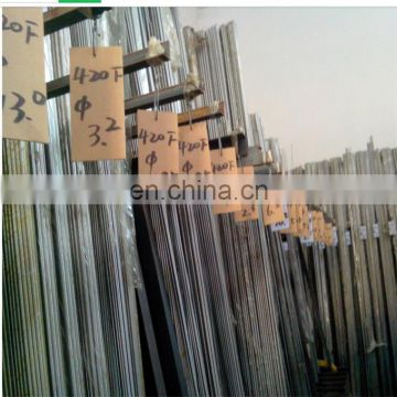 Polished 430 ferritic stainless steel round bar