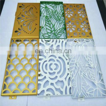 201 304 CNC cutting colored stainless steel perforated dimple plate