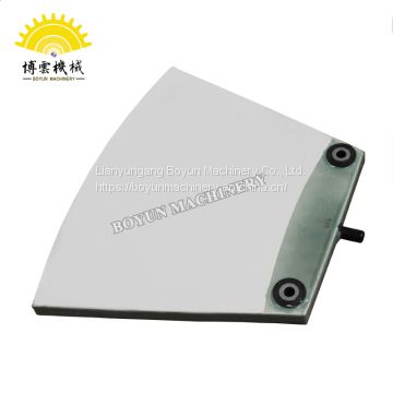 Automatic vacuum filter white corundum filter plate