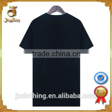 Custom good quality OEM service plain white and plain black t-shirts for women wholesale from China