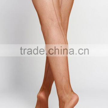 D004811 Dttrol sexy dance fishnet tights pantyhose with back seam foot panty stocking