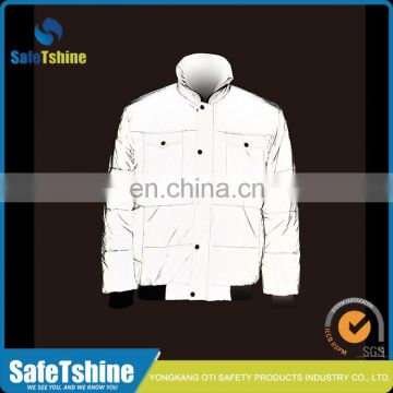 High visibility breathable outdoor durable reflective sport jacket