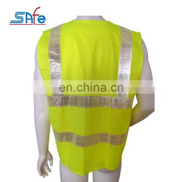New Product promotional six lattices reflective removable safety vest