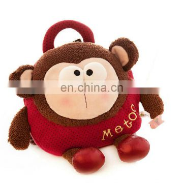 OEM plush monkey backpack for sale 2014 top selling