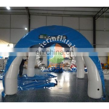 Used Outdoor Inflatable Blue Tent for Event, Advertising Inflatable Air-saeled Tent for sale