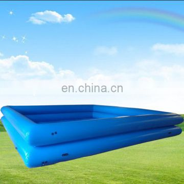 large square inflatable swimming pool