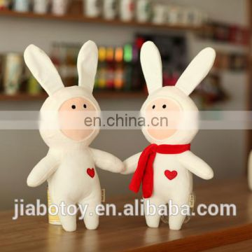 kids Pretty Toy Hot Sale Lovely White Plush Rabbit Toy
