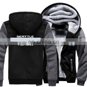 Rams Jackets Football New Model Winter Thicken Jersey Plus Size XXXXXXL American Winter Hoodies and Sweatshirt