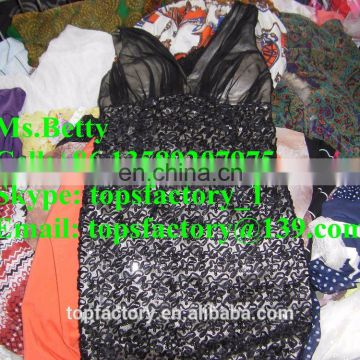 Top quality Fashion used clothes bags