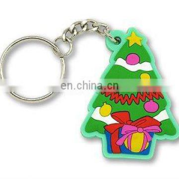 Christmas Tree 3D PVC Keychain