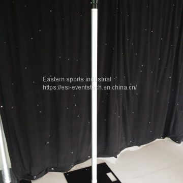 High quality pipe and drape for flower wall wedding backdrop used pipe and drape for sale