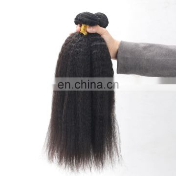 Wholesale Kinky Straight Natural Hair Extensions crochet hair extension indian human hair