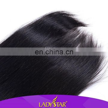 Super quality ladystar grand silky straight hair Peruvian virgin hair all size 100 human hair