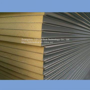 PU / Polyurethane Sandwich Panels for Clean Room Walls and Ceilings Material