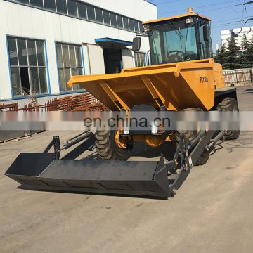 all Terrain vehicle diesel operated FCY50 Loading capacity 5 tons site dumper truck for export
