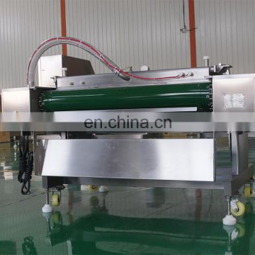 industrial automatic single chamber vertical thermoforming rolling vacuum packaging machine